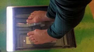 Digitale Fußdruckmessung