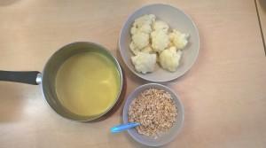 Curry Mandelsoße